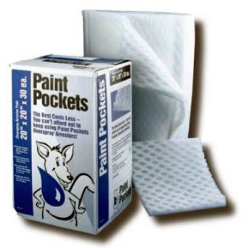 Paint Pockets White Filters