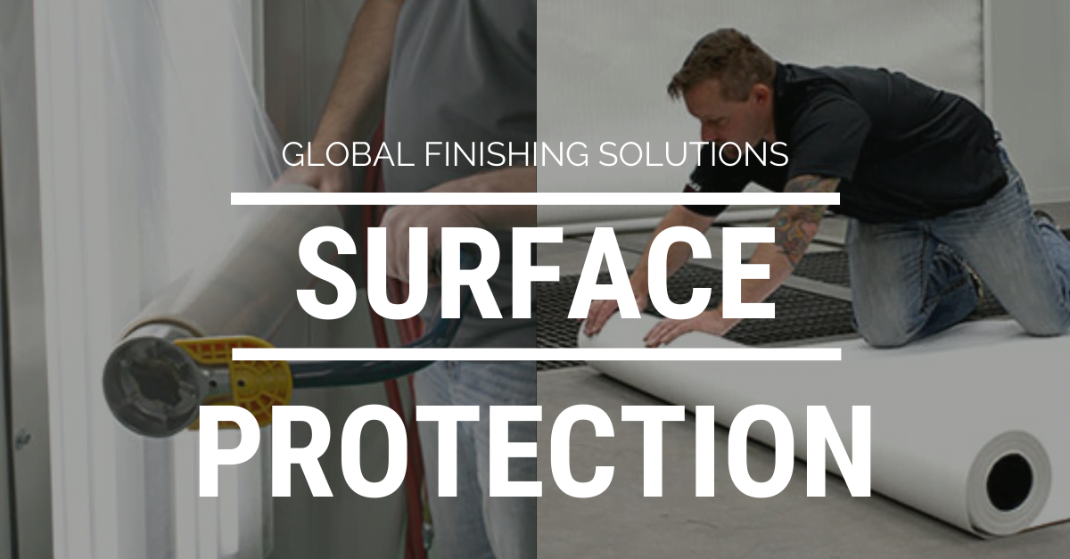 Spray Booth Surface Protection